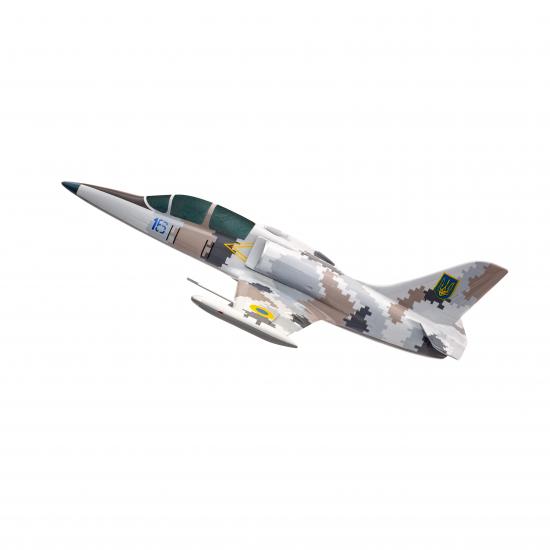 """Модель самолёта L-39 """"Альбатрос"""" Воздушных Сил Украины (1:60)"""