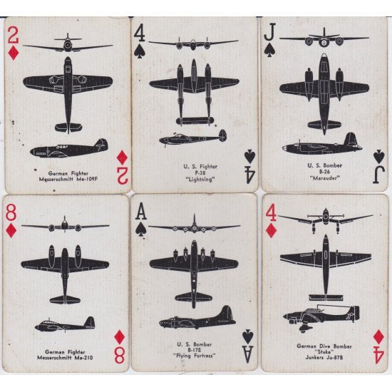 Карты игральные Airplane Spotter Playing Cards