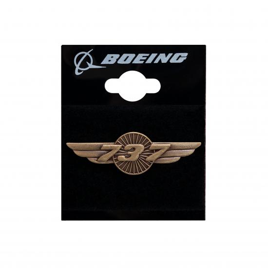 Значок авиационный Boeing 737