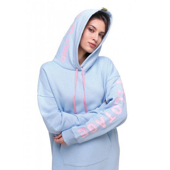 Платье-худи авиационное Pilotage женское