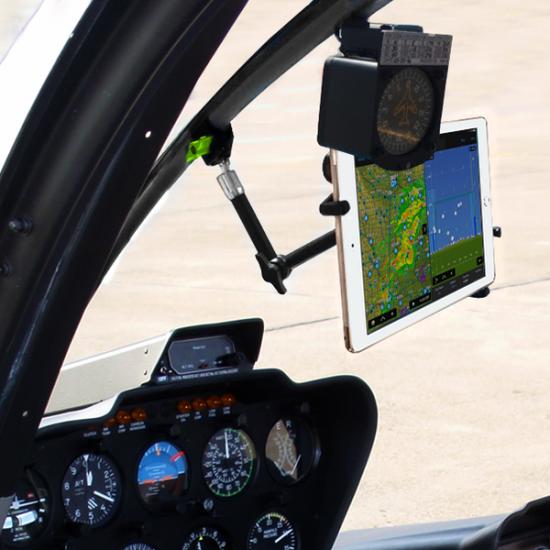 Крепление в кабину авиационное My Go Flight Robinson Helicopter Center Spar Mount вертолетное