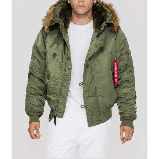 Куртка N-2B Cold Weather Jacket. Green
