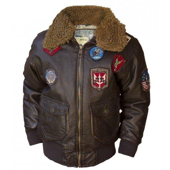 Куртка авиационная TOPGUN KIDS AVIATOR BOMBER JACKET детская