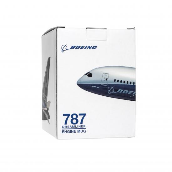 Чашка авиационная Boeing 787 Dreamliner Engine Mug