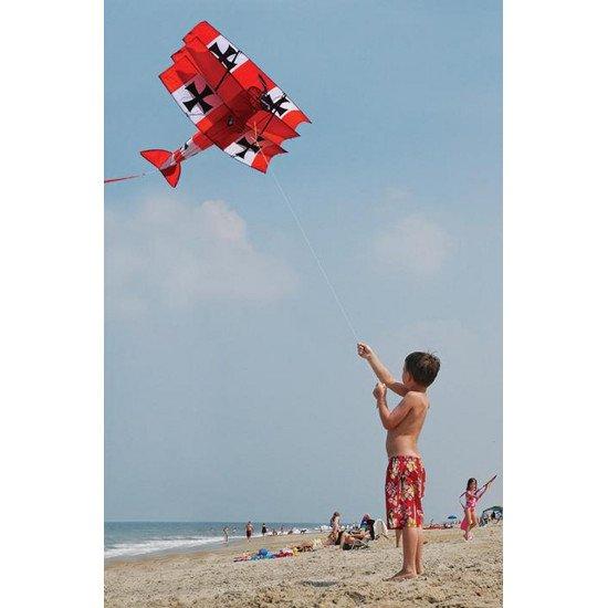 Игрушка воздушный змей Red Baron Triplane 3D Kite