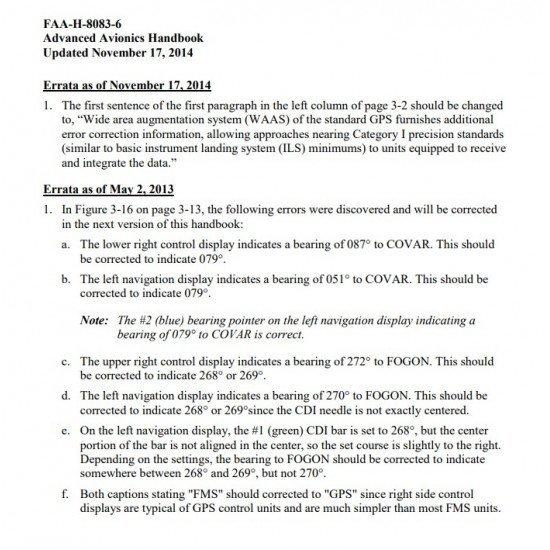 Учебное пособие по авионике Advanced Avionics Handbook