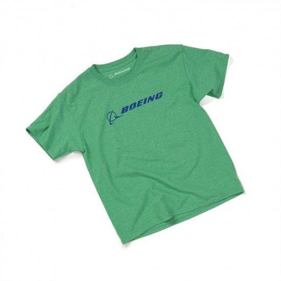 Футболка авиационная BOEING Green детская