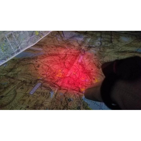 Фонарь авиационный FLITELITE FINGER LIGHT красный