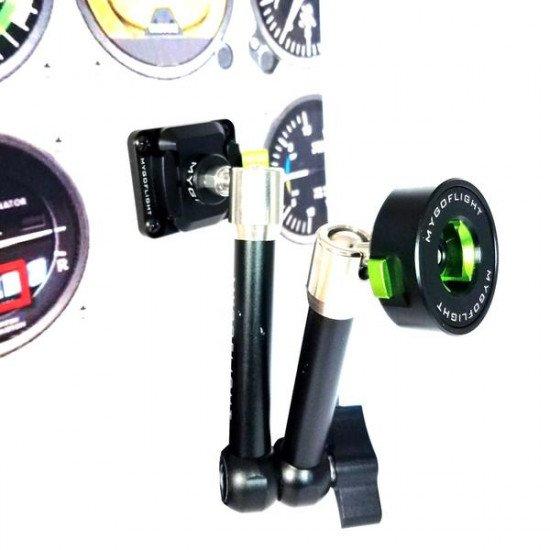 Крепление в кабину авиационное My Go Flight Sport Mount Flex Clip с базой