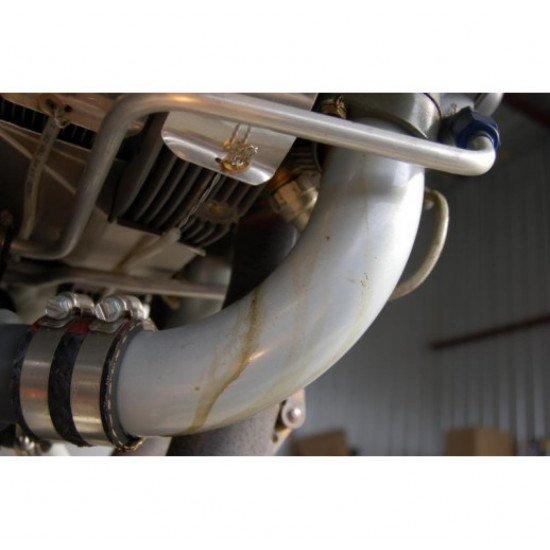 Хомут авиационный LW-15592-8-28 Lycoming из нержавеющей стали