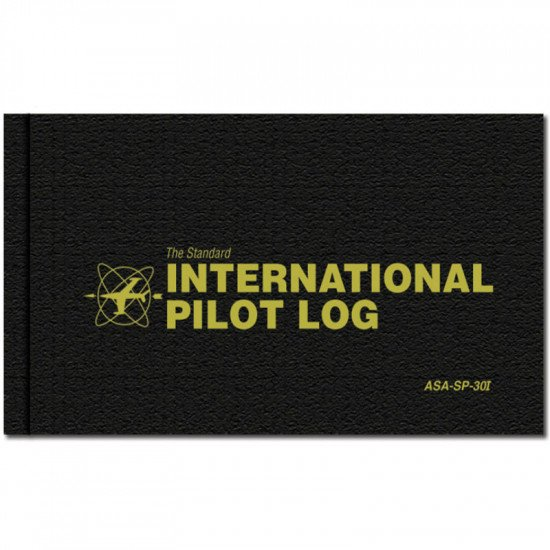 Книжка лётная International Pilot Logbook