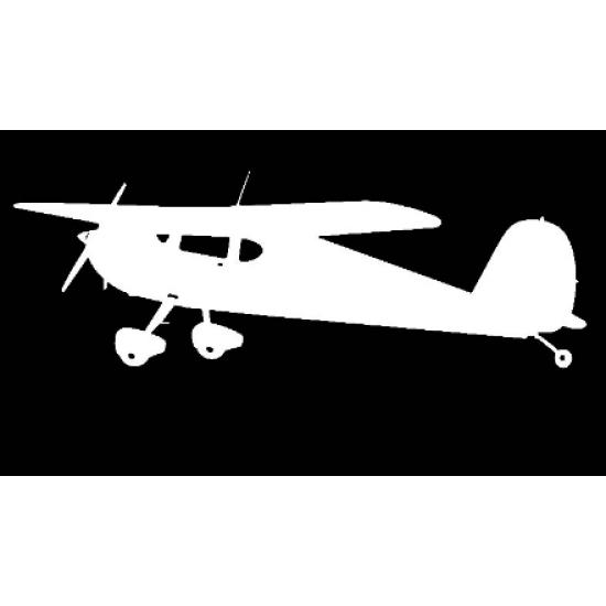 Наклейка на автомобиль авиационная Plane Antique 2