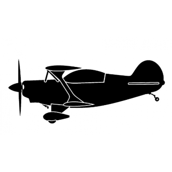 Наклейка на автомобиль авиационная Plane Antique
