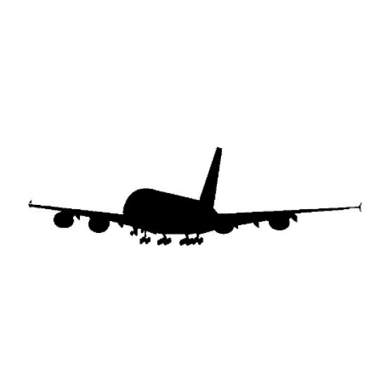 Наклейка на автомобиль авиационная Plane