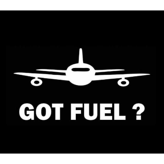Наклейка на автомобиль авиационная Got Fuel