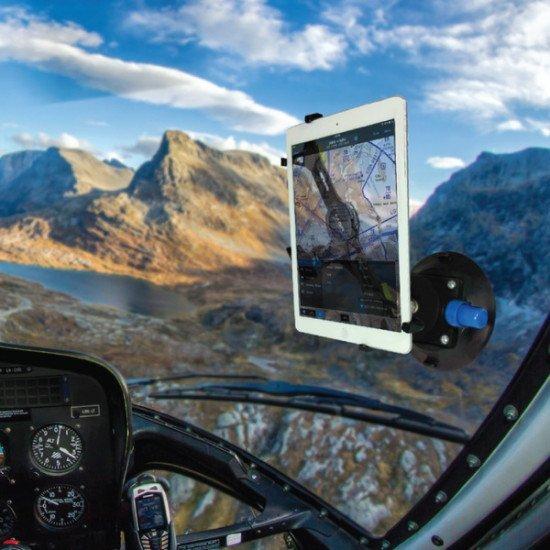 Крепление в кабину авиационное My Go Flight Sport Mount Flex Suction PRO с присоской