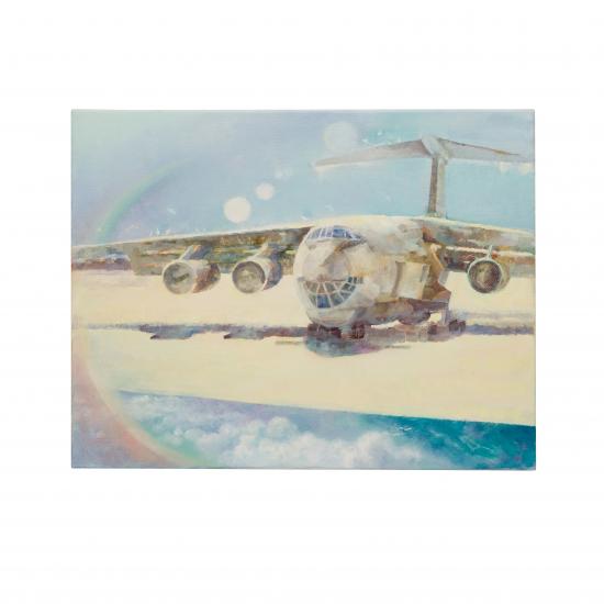 """Картина авиационная """"Ил-76"""""""