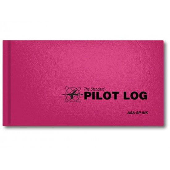 Книжка лётная Standard Pilot Log Pink