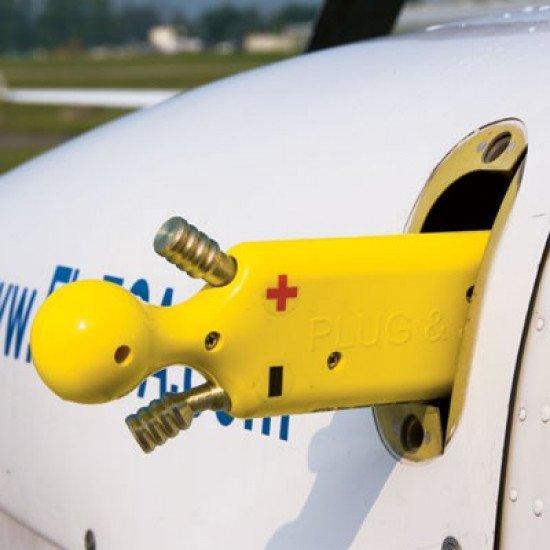 Переходник для бортового разъема аэродромного питания Plug & Jump