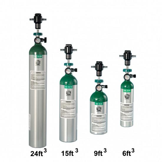 Портативная кислородная система SkyOx 12-24ft3/0,68м3