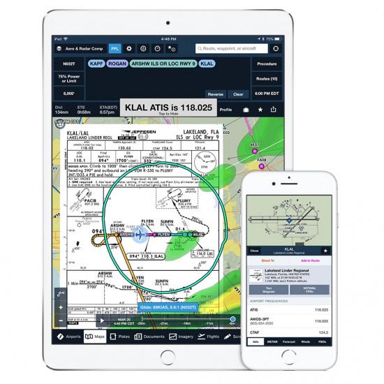 Приложение для полетов ForeFlight App (Basic Plus Subscription)
