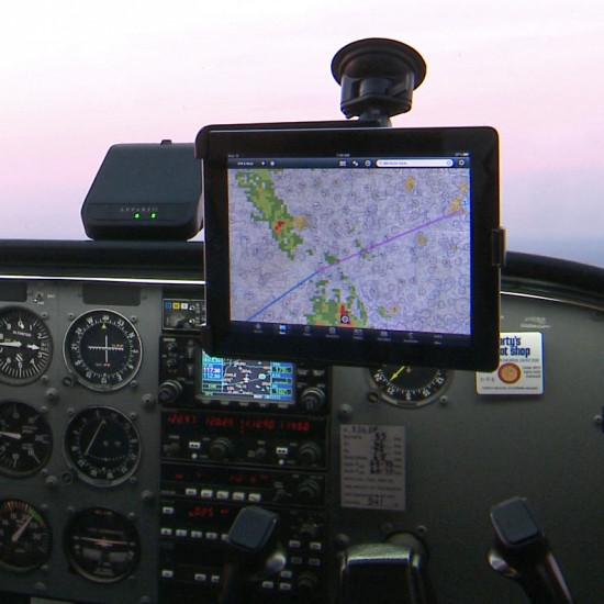 Крепление в кабину авиационное RAM Suction Cup Mount for iPad