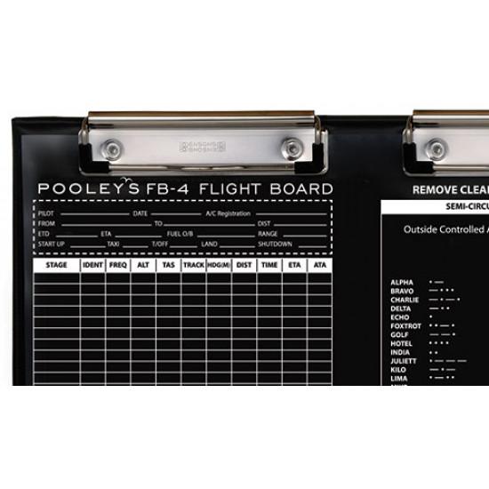 Наколенный планшет летчика Pooleys FB-4