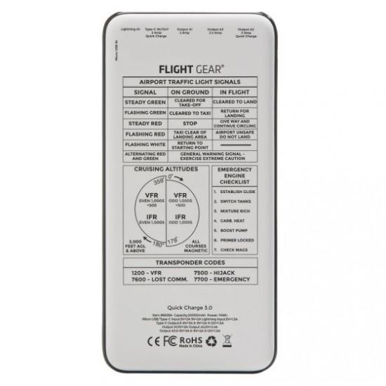 Набор портативных зарядных устройств Flight Gear (на 20000 мАh та 10000 мАh)