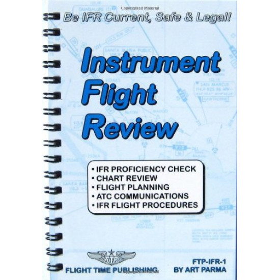 Книга авиационная INSTRUMENT FLIGHT REVIEW