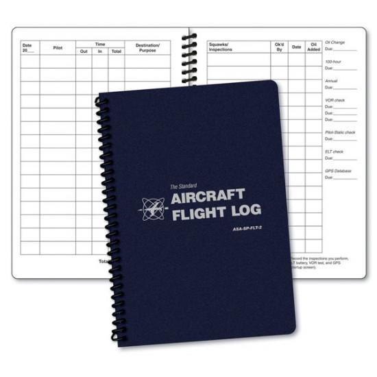 Журнал полётов ASA SP-FLT-2 летательного аппарата