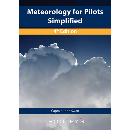 Книга авиационная Pooleys Meteorology for Pilots Simplified, 4th Edition - John Swan