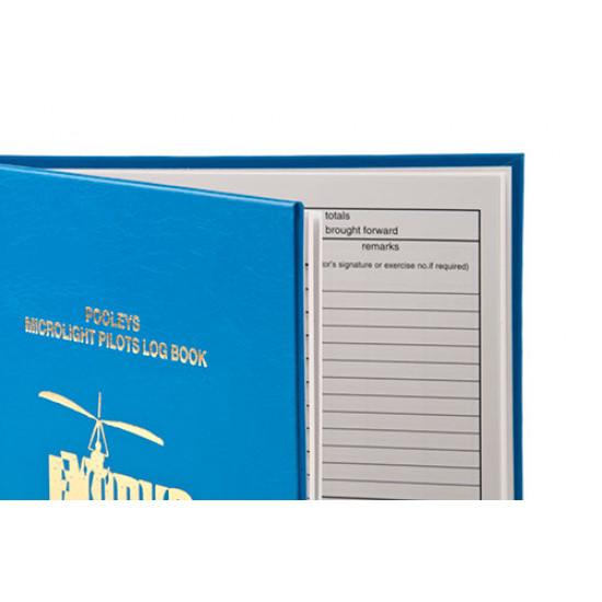 Книжка лётная Pooleys Microlight Pilot's Log Book