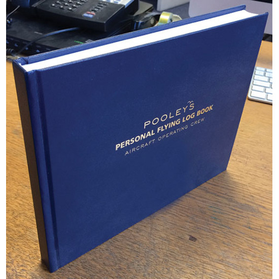 Книжка лётная Pooleys EASA Part-FCL Personal Flying Log Book