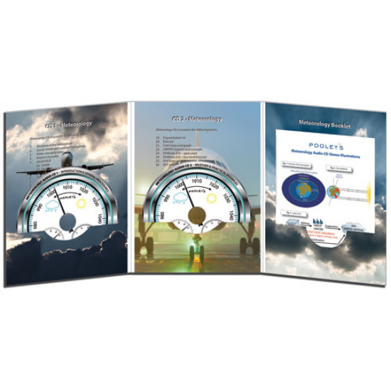 Аудиокнига авиационная Pooleys Private Pilot's Licence Meteorology Audio (2xCDs)
