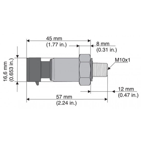 Датчик давления масла Rotax 456-180 М10х1