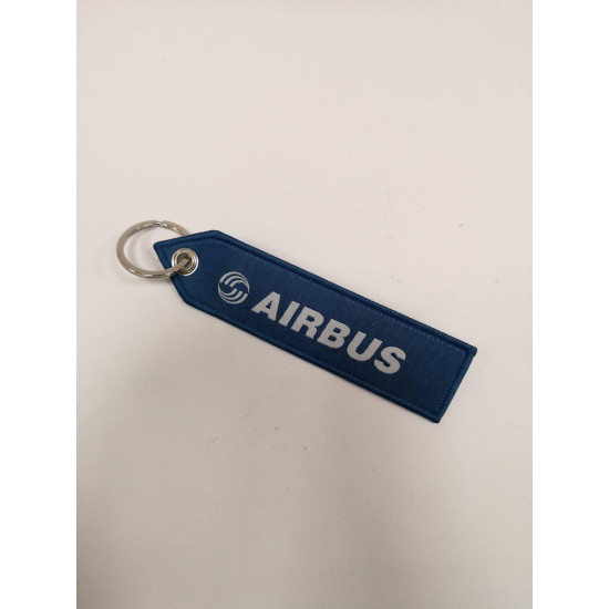Брелок авиационный А дизайн синий