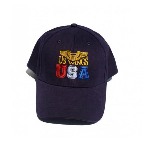 Кепка авиационная US WINGS USA Logo