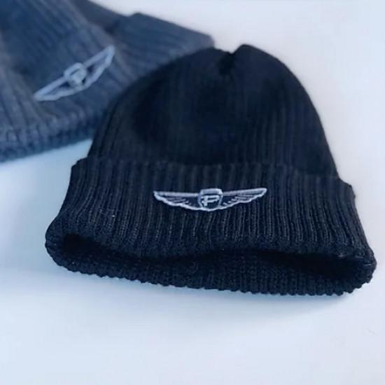 Шапка авиационная зимняя Pilotage с авторским шевроном