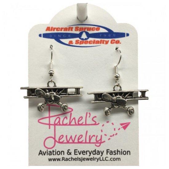 Сережки авиационные Biplane