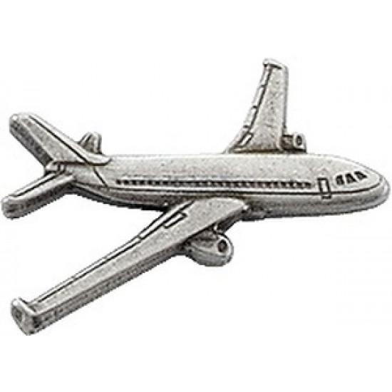 Значок авиационный AIRBUS A320 SILVER