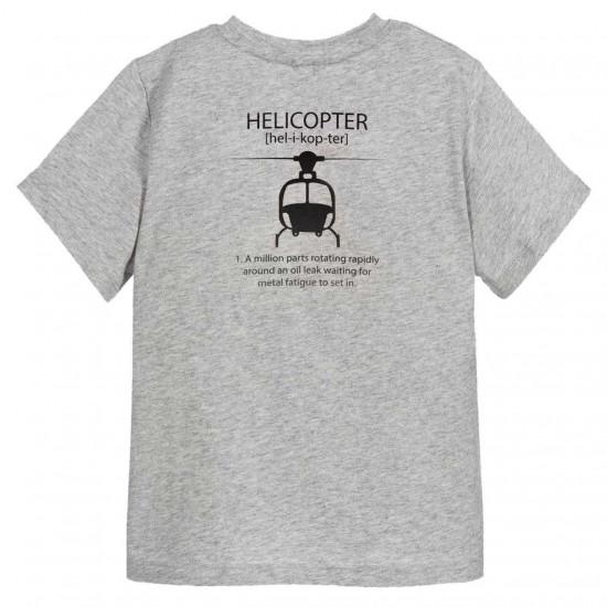 Футболка авиационная Helicopter мужская