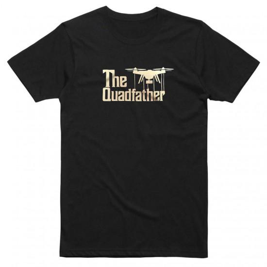 Футболка авиационная The QuadFather мужская