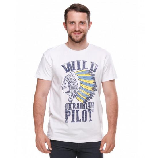 Футболка авиационная Alpha Bravo Club Wild Pilot мужская