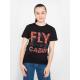 Футболка авиационная Авиация Галичины FLY CABIN женская