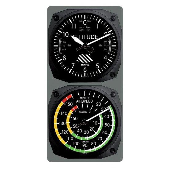 Часы настенные ALTIMETER / AIRSPEED IND / THERMOMETER WALL CLOCK
