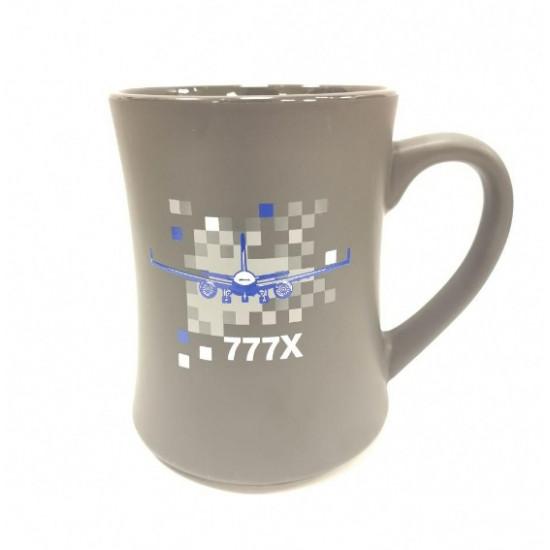 Чашка авиационная Boeing 777X Pixel