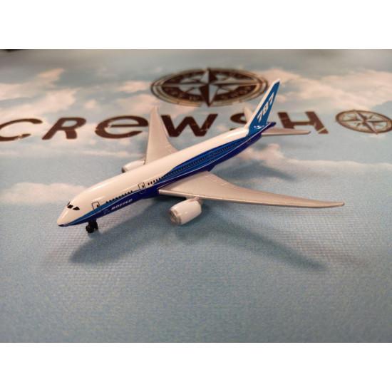 Модель самолета BOEING 787-8 DREAMLINER MINI