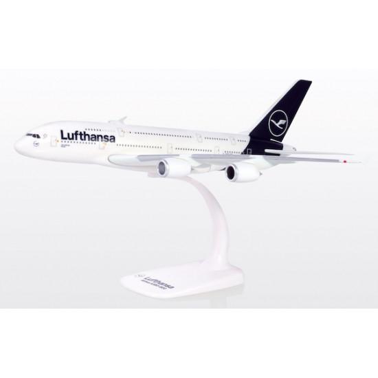Модель самолета AIRBUS A380 LUFTHANSA D-AIMB (NEW IVERY)