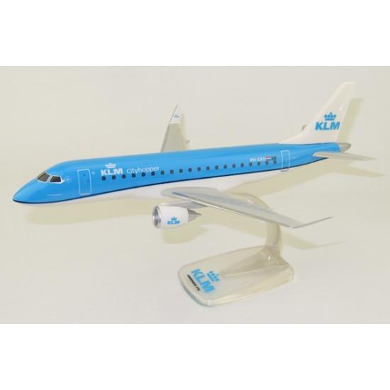 Модель самолета EMBRAER ERJ175 KLM CITYHOPPER PH-EXU