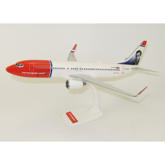 Модель самолета BOEING 737-800 NORWEGIAN «MAX MANUS» LN-DYC